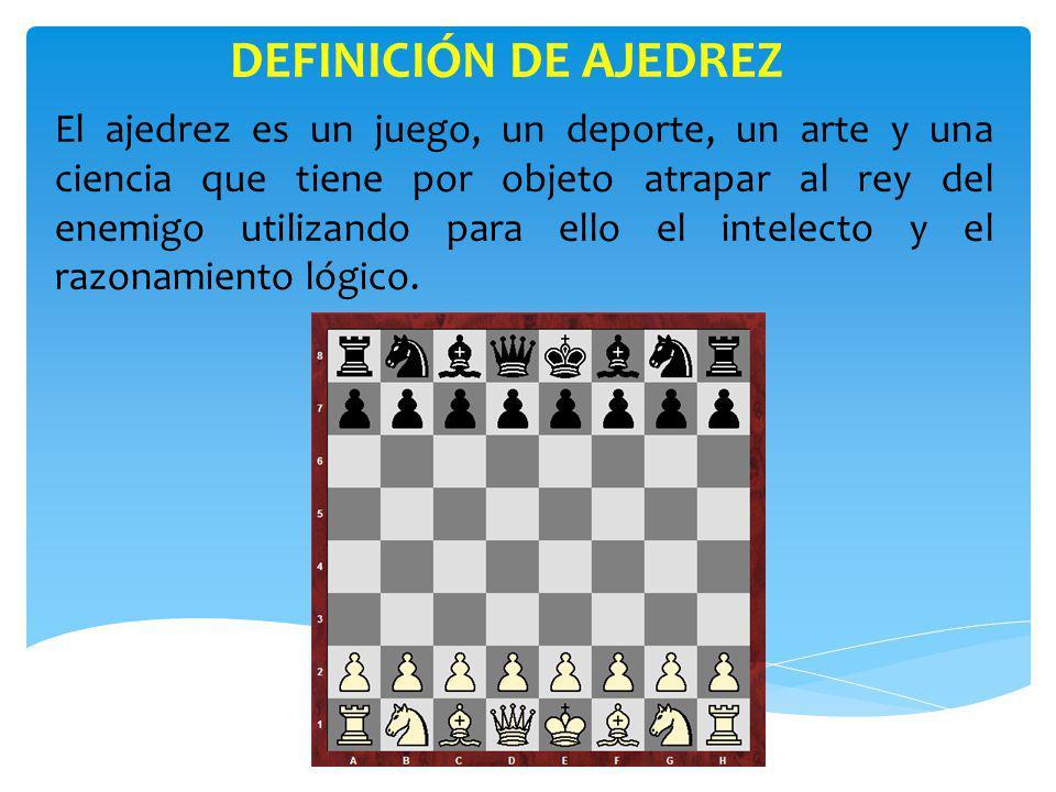DEFINICIÓN DE AJEDREZ