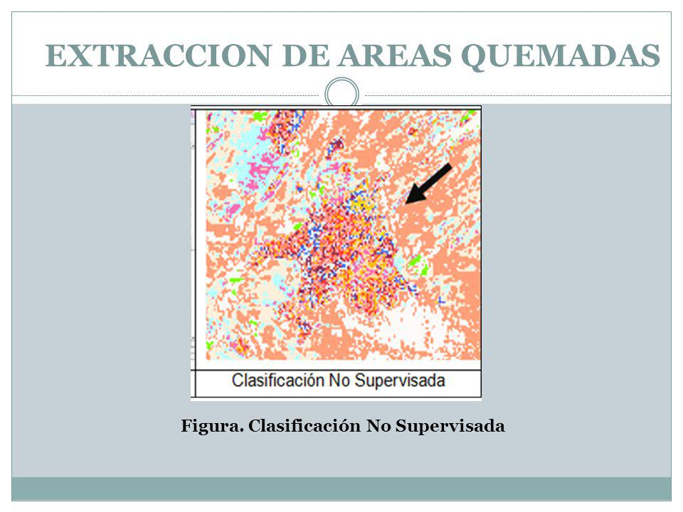 EXTRACCION DE AREAS QUEMADAS