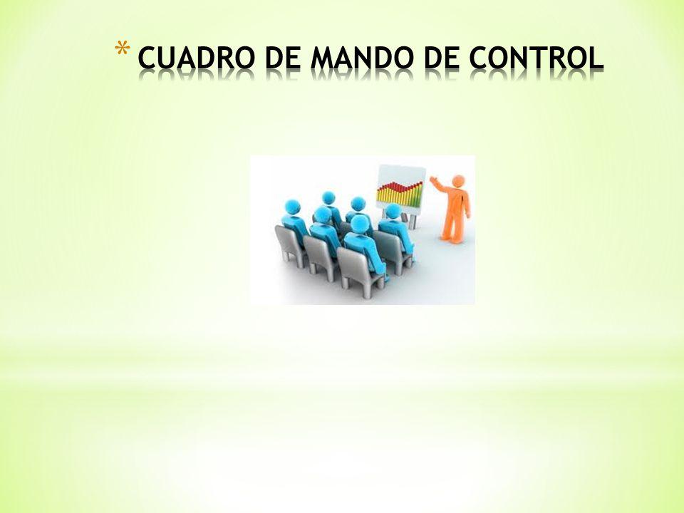 CUADRO DE MANDO DE CONTROL