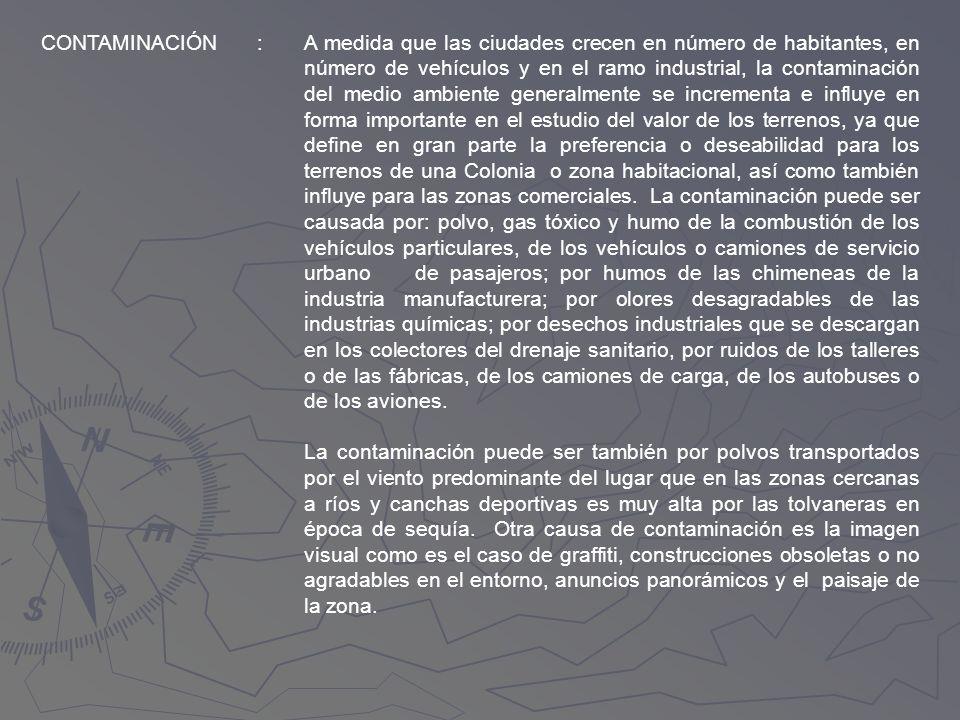 CONTAMINACIÓN: