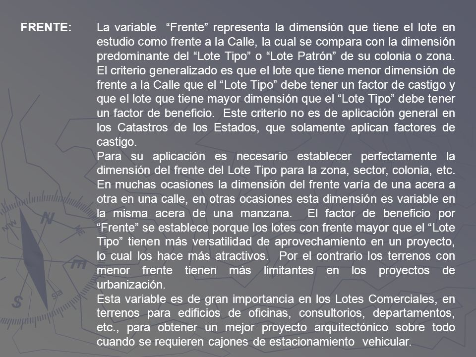 FRENTE: