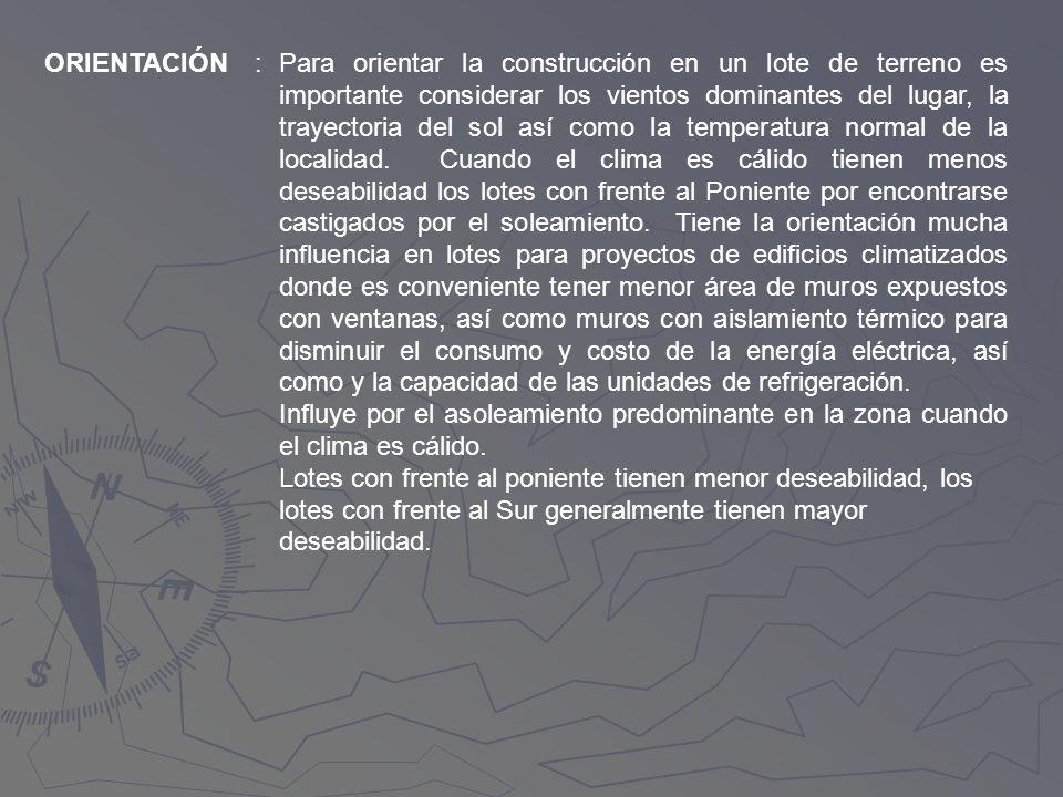 ORIENTACIÓN :