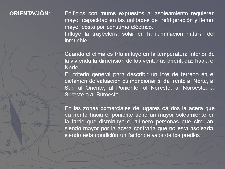ORIENTACIÓN: