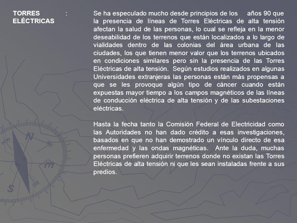 TORRES ELÉCTRICAS. :