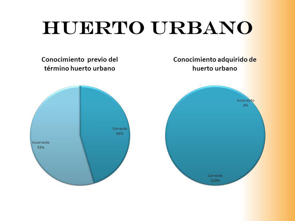 Huerto urbano