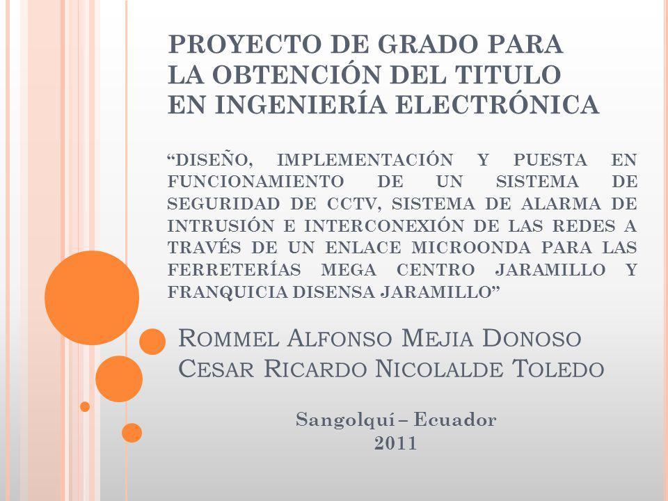 Rommel Alfonso Mejia Donoso Cesar Ricardo Nicolalde Toledo