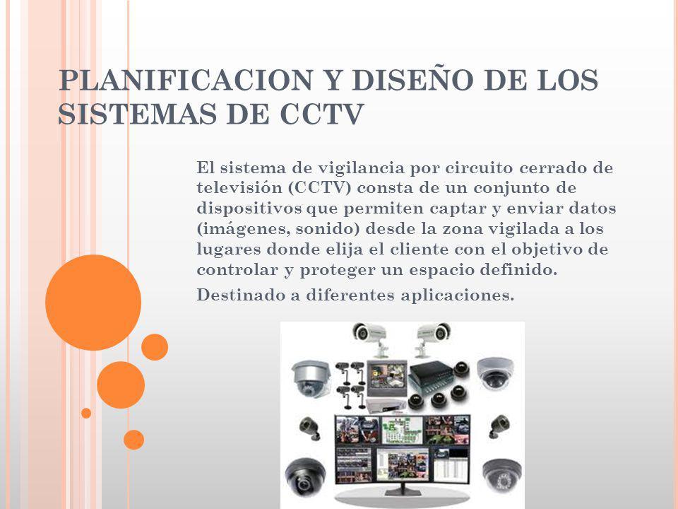 PLANIFICACION Y DISEÑO DE LOS SISTEMAS DE CCTV