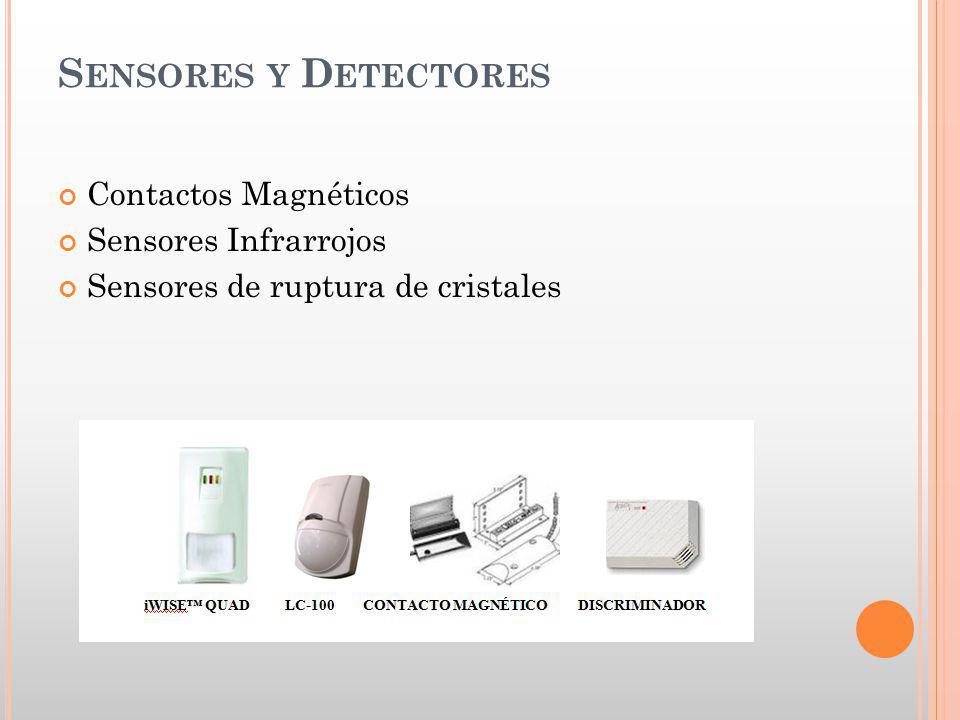 Sensores y Detectores Contactos Magnéticos Sensores Infrarrojos