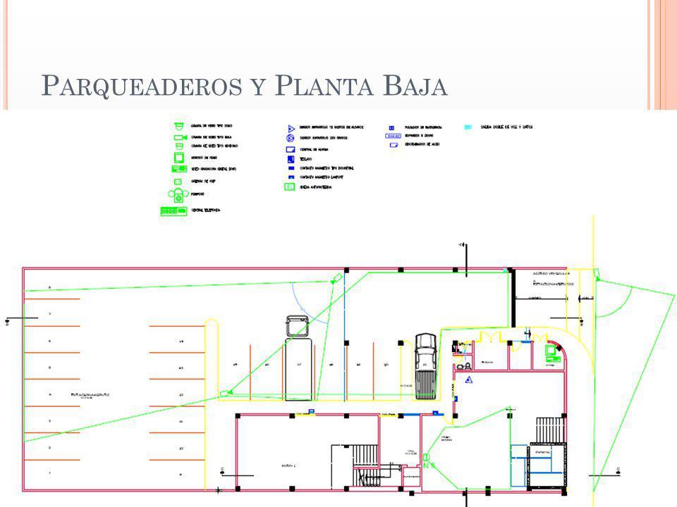 Parqueaderos y Planta Baja