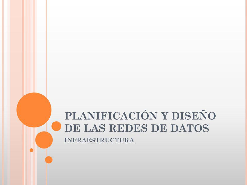 PLANIFICACIÓN Y DISEÑO DE LAS REDES DE DATOS