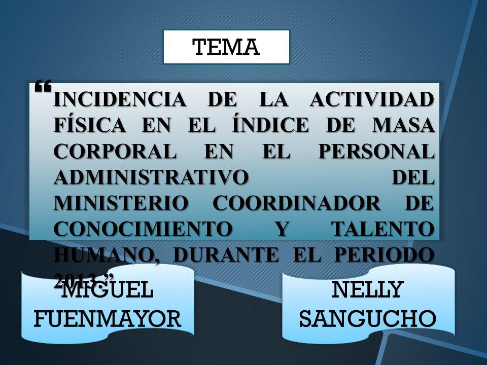 TEMA MIGUEL FUENMAYOR NELLY SANGUCHO
