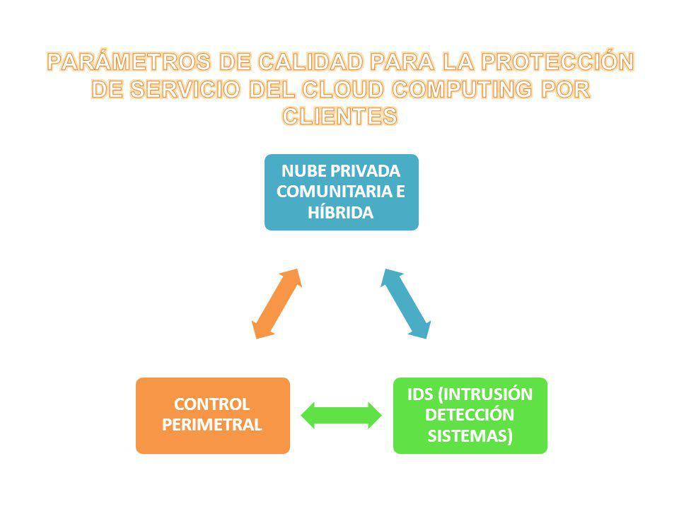NUBE PRIVADA COMUNITARIA E HÍBRIDA IDS (INTRUSIÓN DETECCIÓN SISTEMAS)