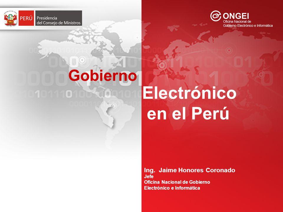 Ing. Jaime Honores Coronado