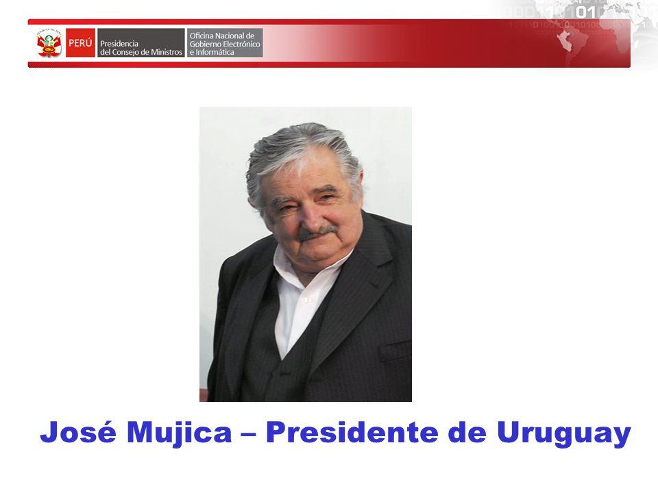 José Mujica – Presidente de Uruguay