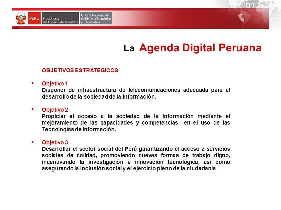 La Agenda Digital Peruana