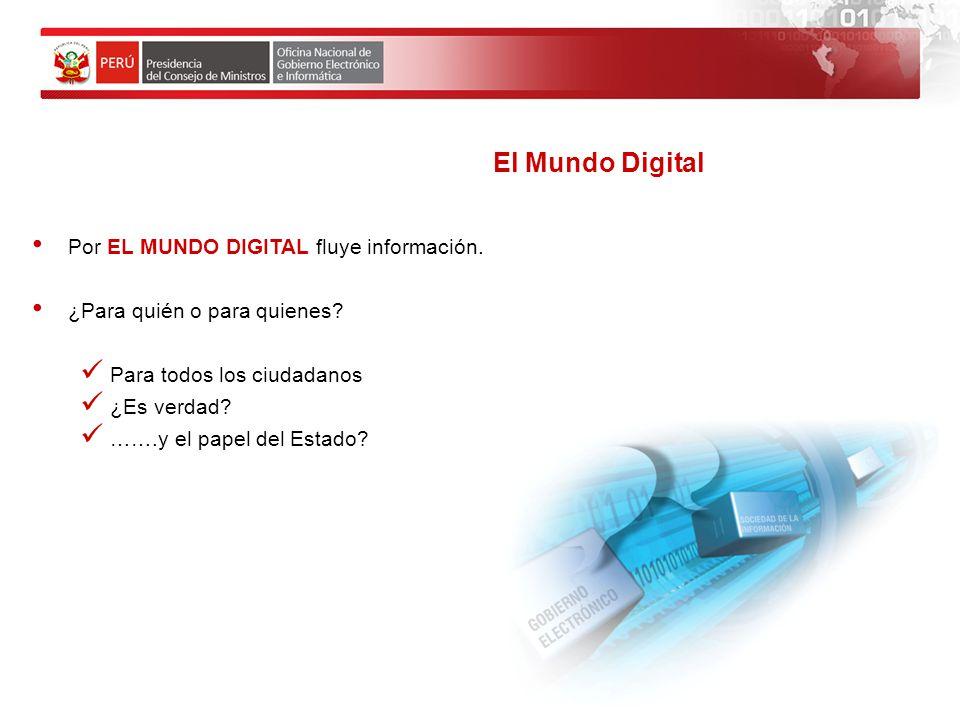 El Mundo Digital Por EL MUNDO DIGITAL fluye información.