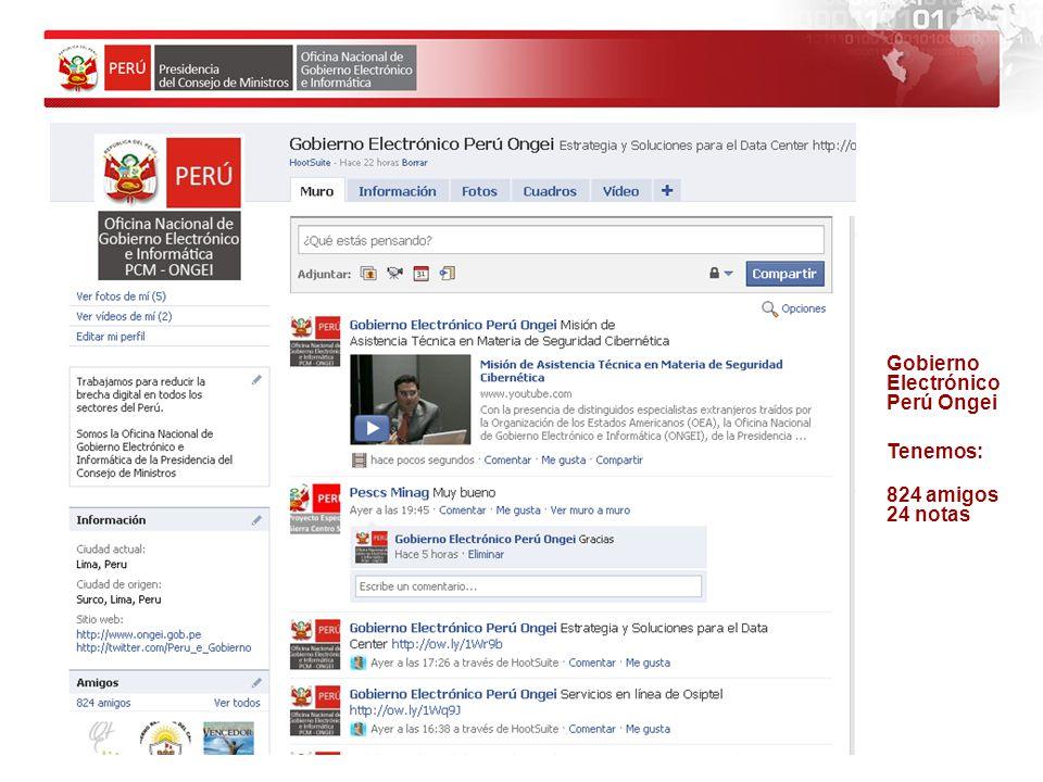 Gobierno Electrónico Perú Ongei