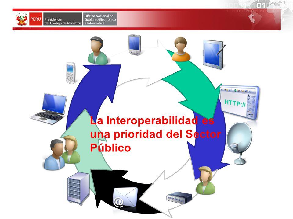 La Interoperabilidad es una prioridad del Sector Público