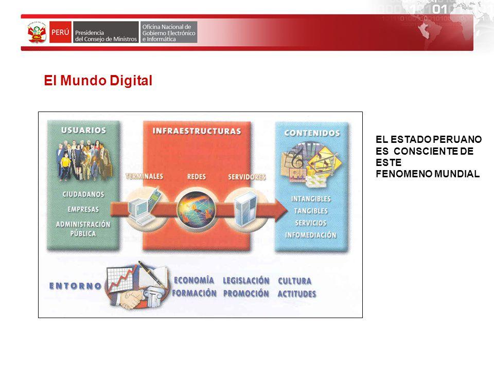 El Mundo Digital Modelo de la Sociedad de la Información