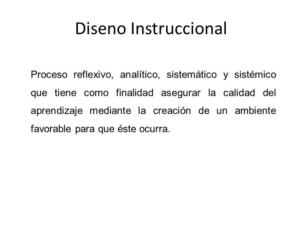 Diseno Instruccional