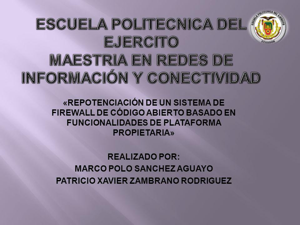 MARCO POLO SANCHEZ AGUAYO PATRICIO XAVIER ZAMBRANO RODRIGUEZ