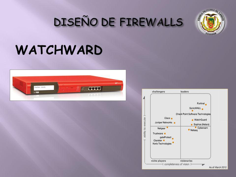 DISEÑO DE FIREWALLS WATCHWARD