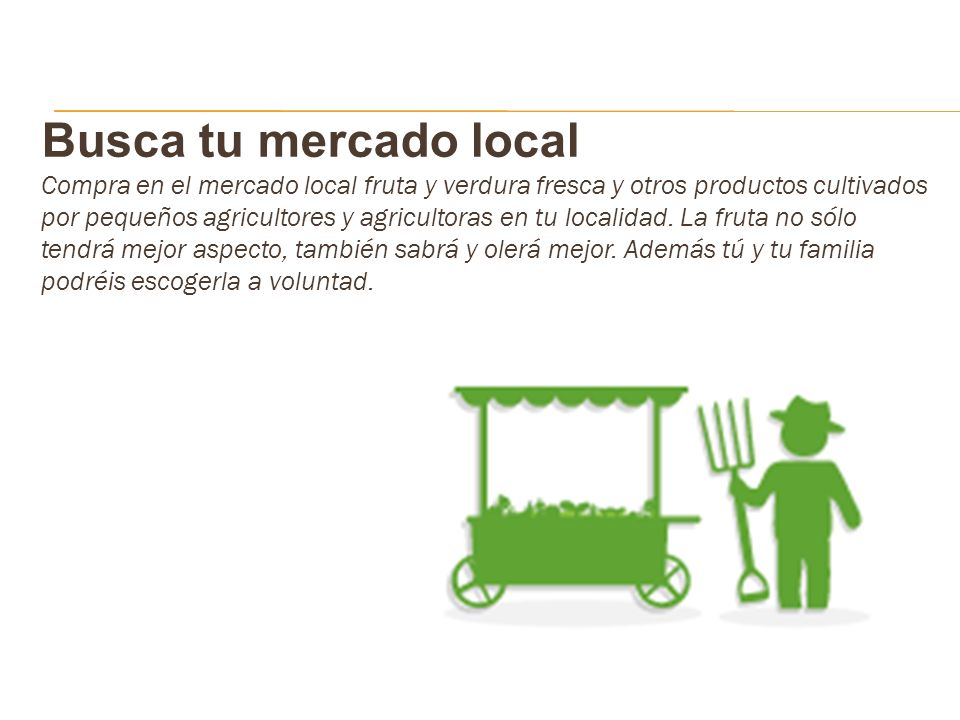 Busca tu mercado local