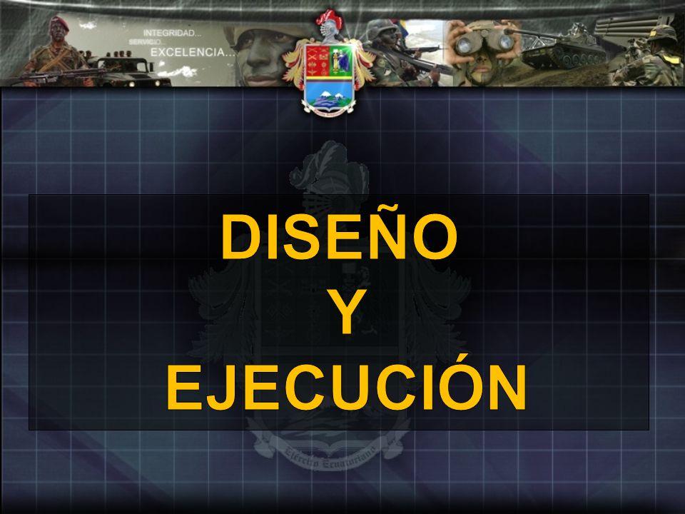 DISEÑO Y EJECUCIÓN