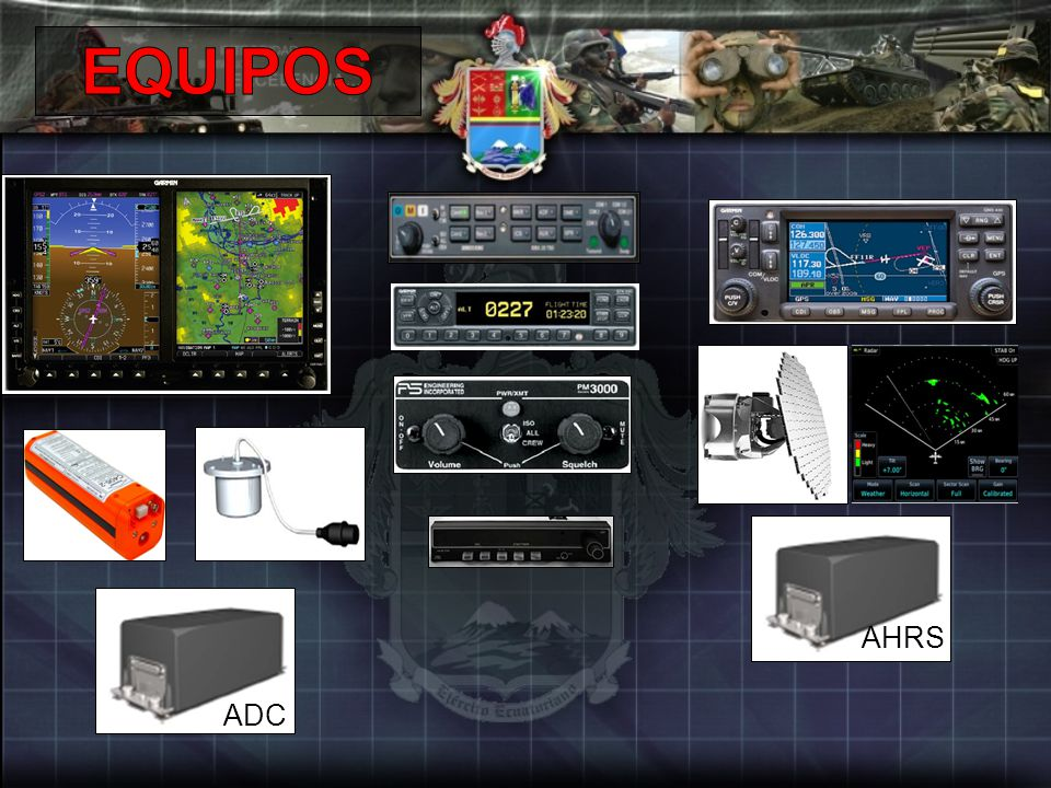 EQUIPOS AHRS ADC