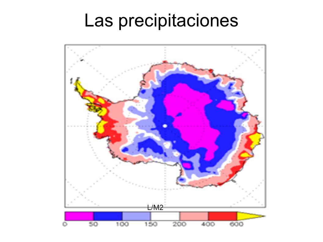 Las precipitaciones L/M2
