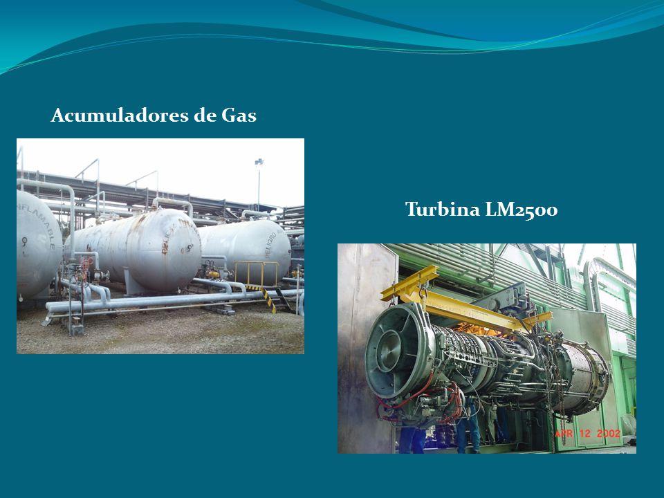 Acumuladores de Gas Turbina LM2500