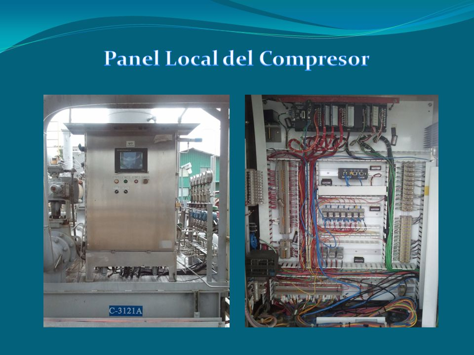 Panel Local del Compresor