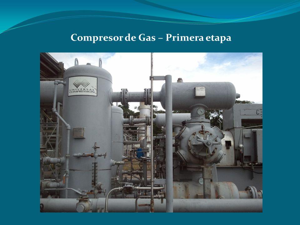 Compresor de Gas – Primera etapa
