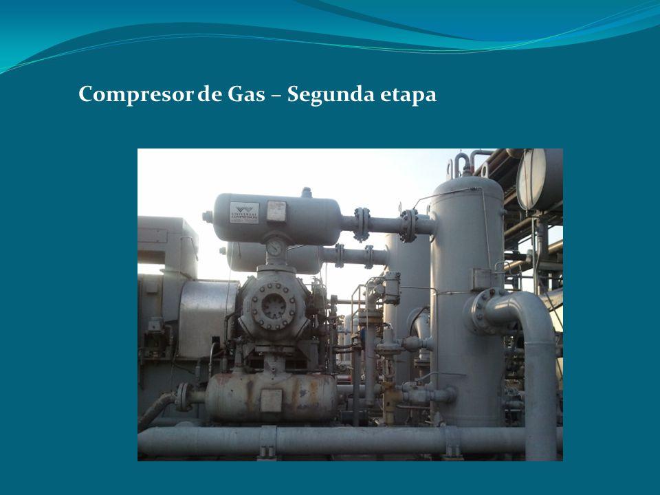 Compresor de Gas – Segunda etapa