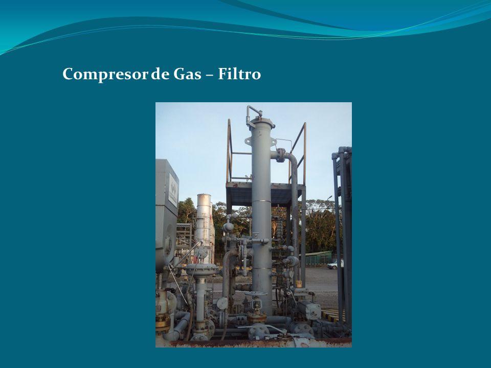Compresor de Gas – Filtro
