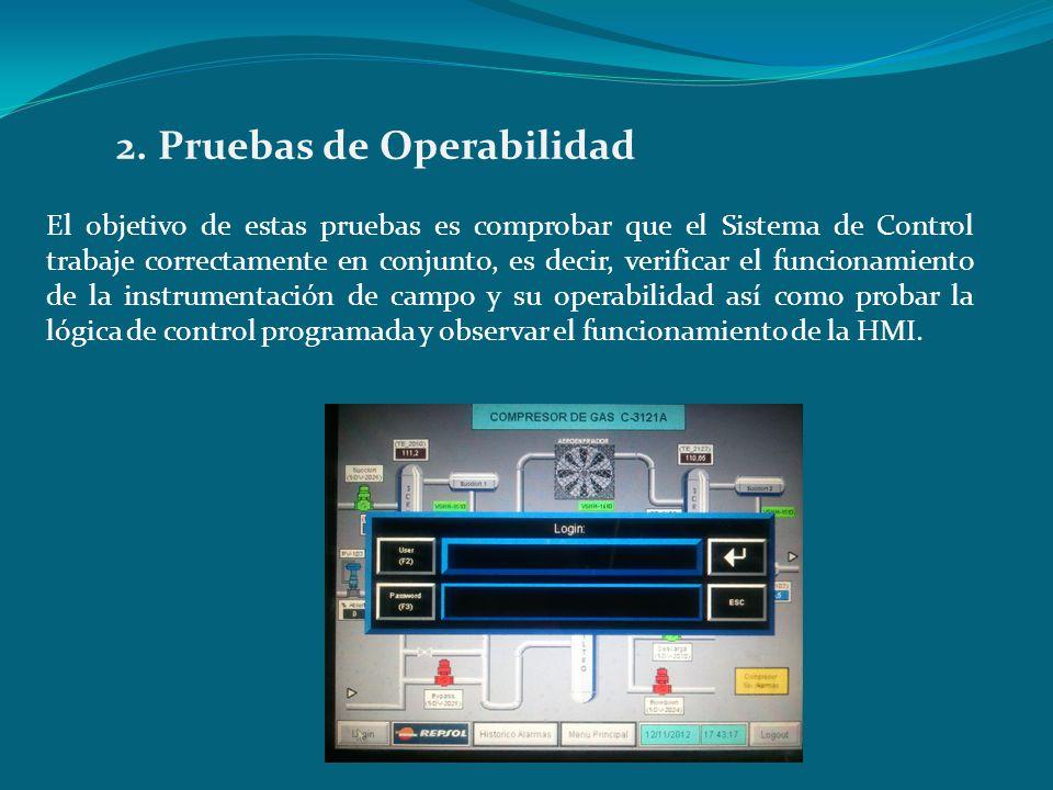 2. Pruebas de Operabilidad