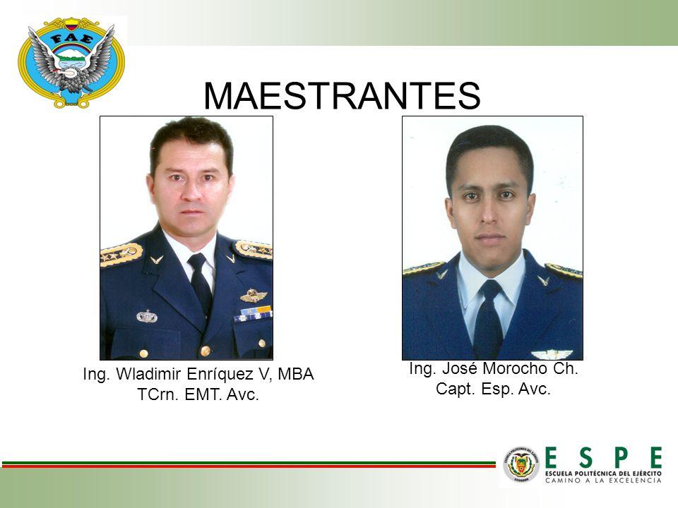 Ing. Wladimir Enríquez V, MBA