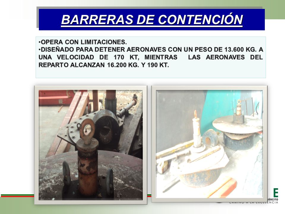 BARRERAS DE CONTENCIÓN BARRERAS DE CONTENCIÓN