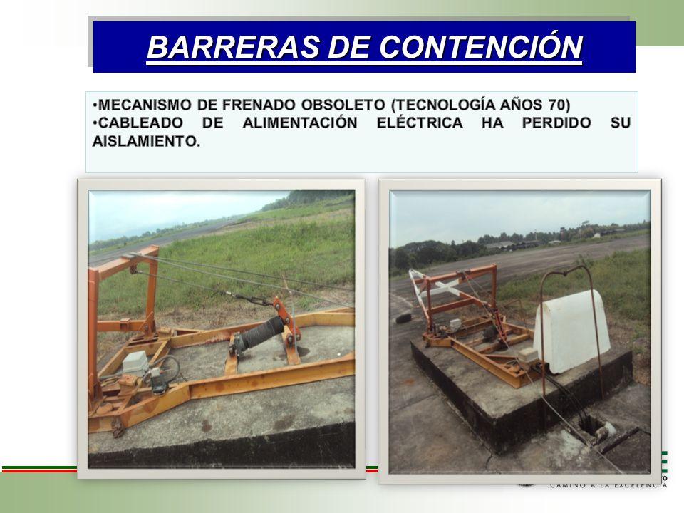 BARRERAS DE CONTENCIÓN