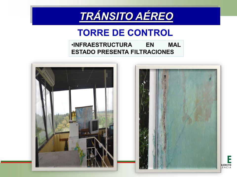 TRÁNSITO AÉREO TORRE DE CONTROL