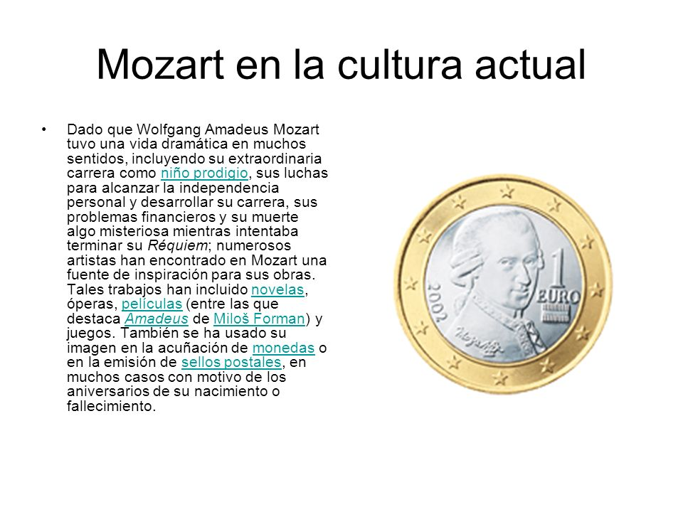 Mozart en la cultura actual