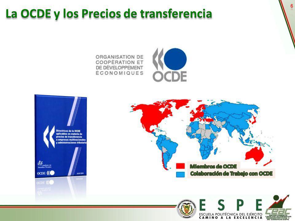 La OCDE y los Precios de transferencia