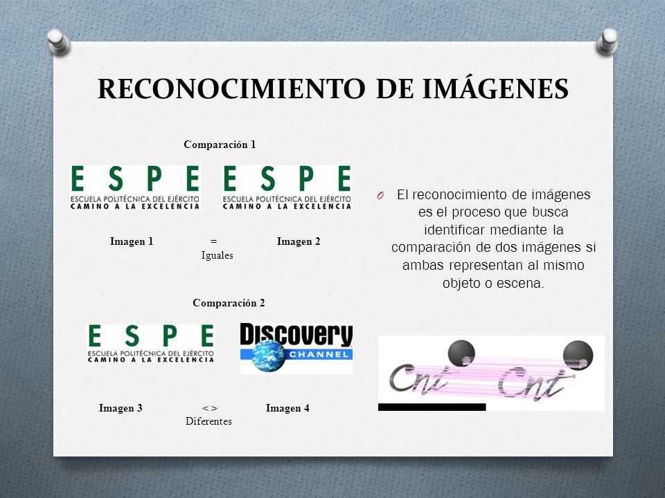 RECONOCIMIENTO DE IMÁGENES