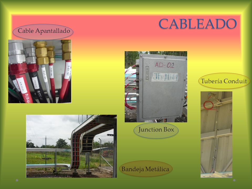 CABLEADO Cable Apantallado Tubería Conduit Junction Box