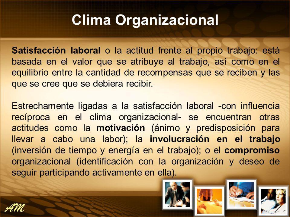Clima Organizacional AM
