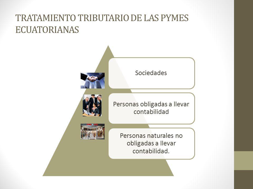 TRATAMIENTO TRIBUTARIO DE LAS PYMES ECUATORIANAS