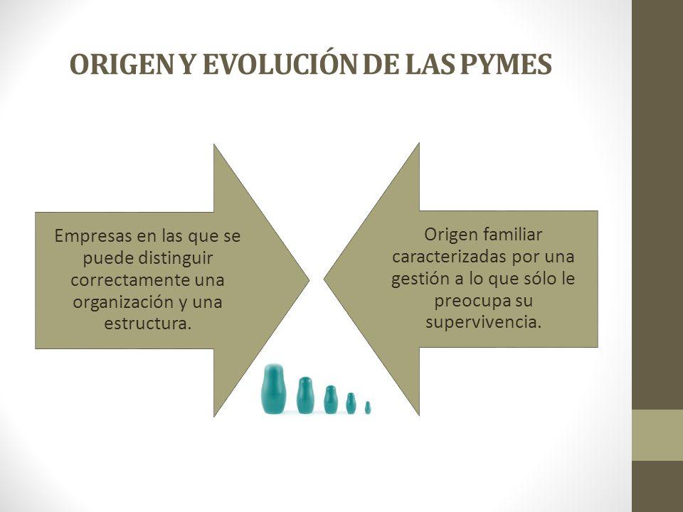 ORIGEN Y EVOLUCIÓN DE LAS PYMES