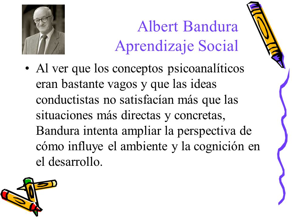 Albert Bandura Aprendizaje Social