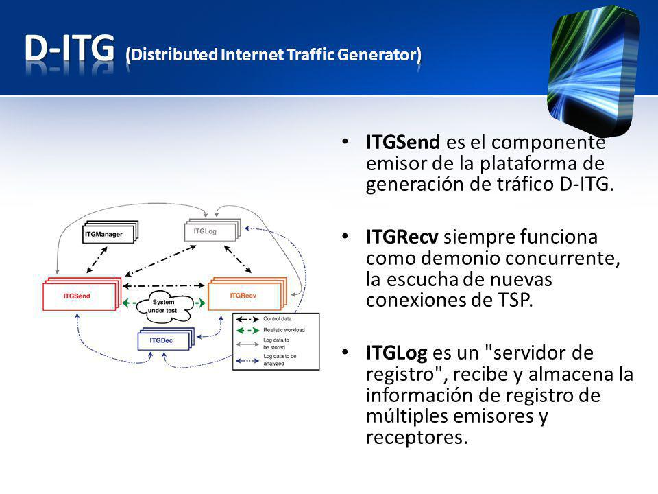 D-ITG (Distributed Internet Traffic Generator)