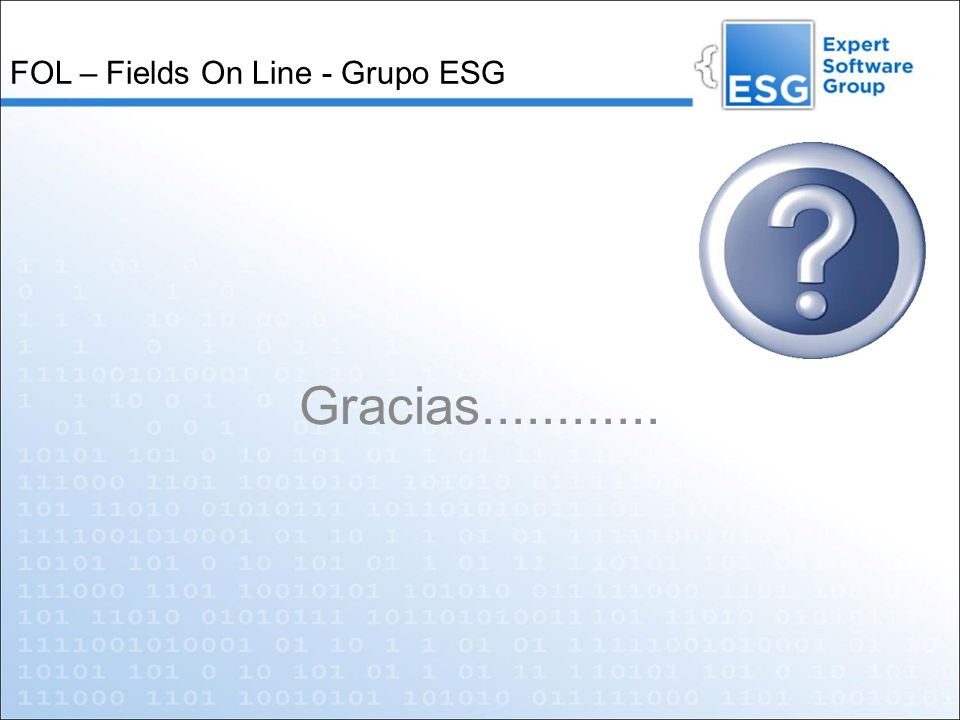 FOL – Fields On Line - Grupo ESG